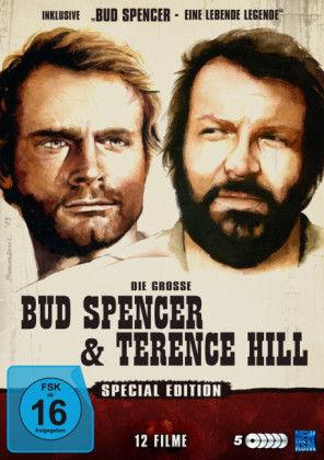 Die große Bud Spencer & Terence Hill Special Edition 12 Filme+ Doku [Weltbild]