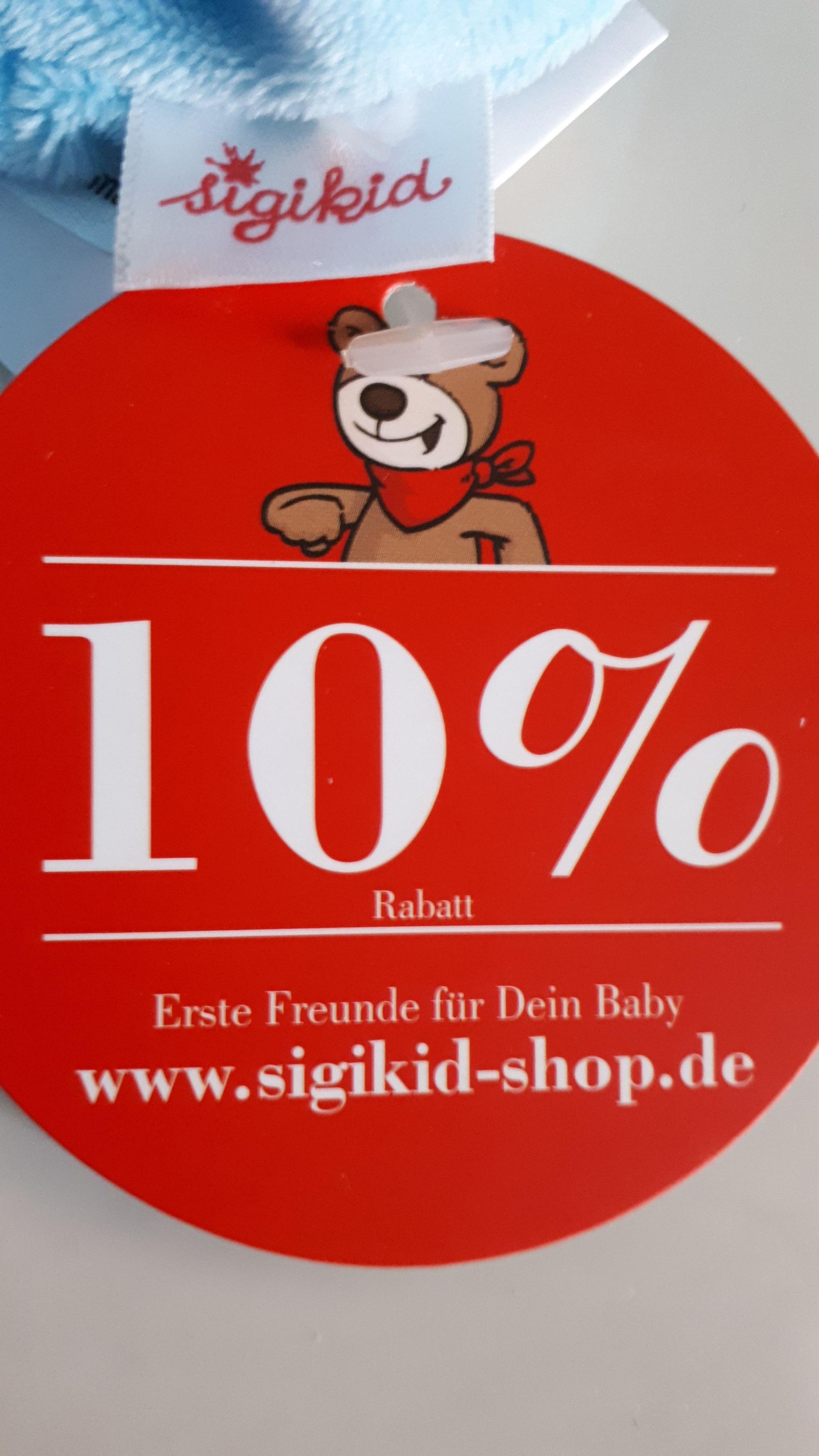 10% Rabatt im Sigikid-Shop.de Babymode Spielsachen