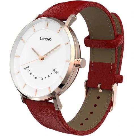 Lenovo Watch S Hybrid Smartwatch (Saphirglas, Schlaf- & Aktivitätstracking, Schrittzähler, Benachrichtigungen mit Vibration, wasserdicht)