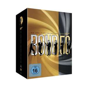 James Bond Box – Die Jubiläums-Collection (22 Discs) [DE Import] [DVD] für  83,94 € inkl. Versand @ Amazon.it