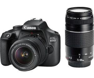 Canon EOS 4000DKit 18-55mm + 75-300mm