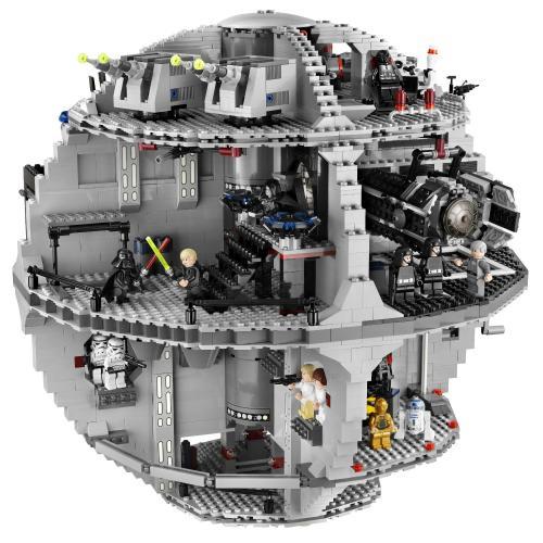 LEGO Star Wars 10188 – Death Star für 323,67 € inkl. Versand @ Amazon.it