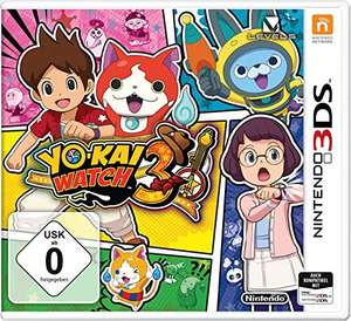 Yokai Watch 3 für Nintendo 3DS / 2DS (Veröffentlichung 07.12.2018)
