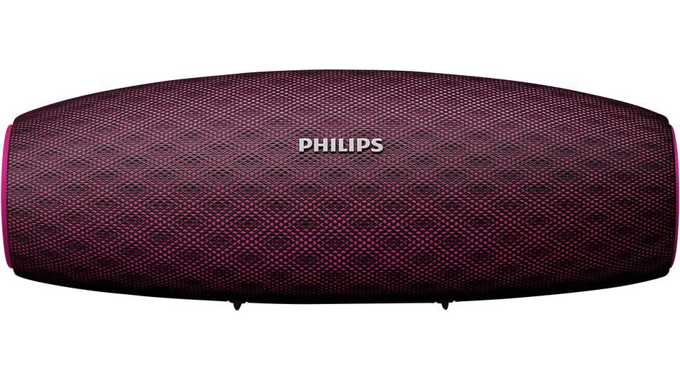 (Voelkner)(Digitalo)(SMDV)  Philips BT7900 Bluetooth® Lautsprecher AUX, Outdoor, Wasserfest, Staubfest Pink