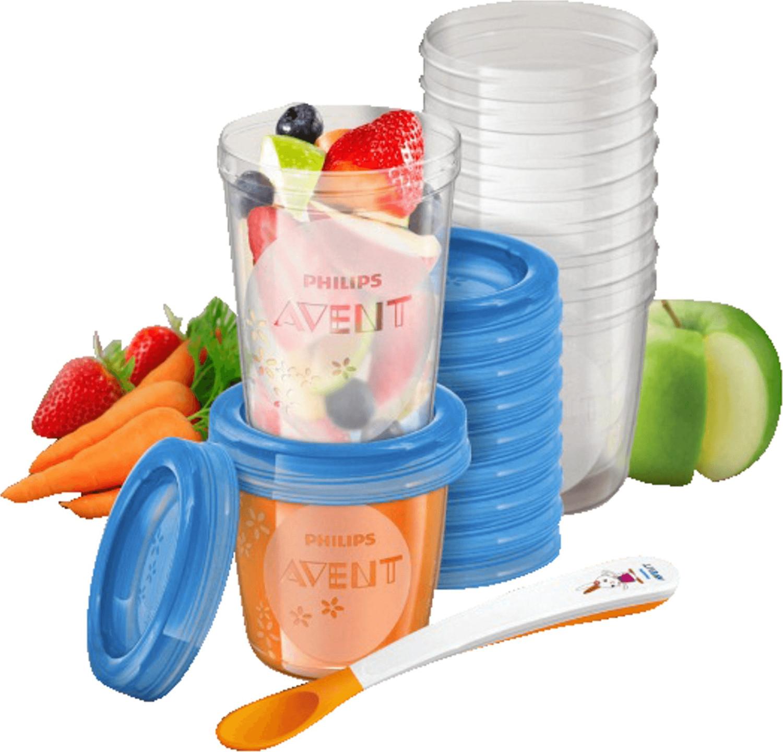 [PRIME] Philips Avent SCF721/20 Aufbewahrungssystem für Babynahrung, 20er Pack (10x180 ml, 10x 240 ml) - für Kinder ab 6 Monaten