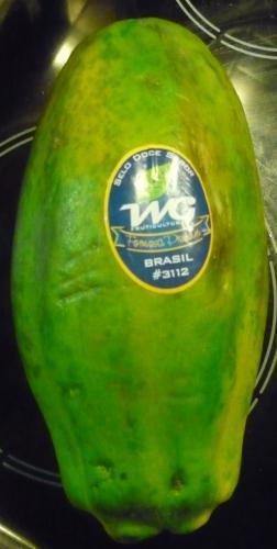 Große, reife Papayas bei Aldi-Süd (offline)