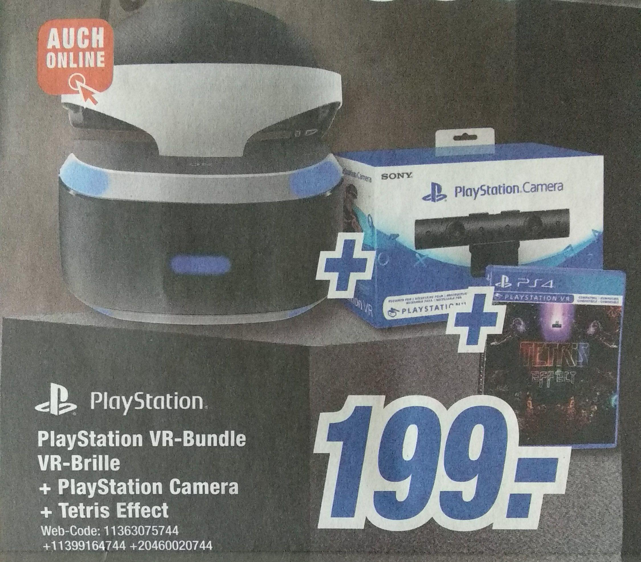 Playstation VR Brille + Kamera + Tetris Effect