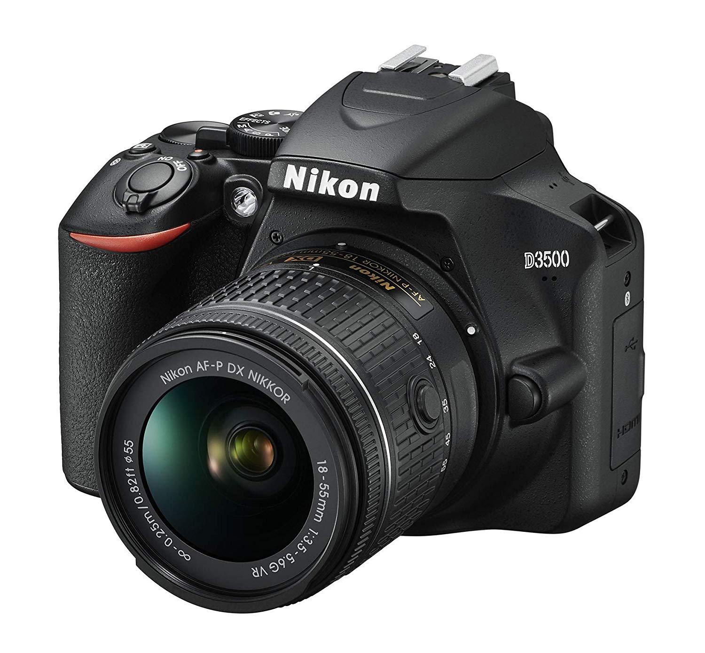 [Amazon.uk] Nikon D3500 Kit AF-P DX 18-55 mm VR schwarz