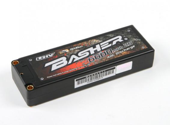 Update: EU ausverkauft, UK geht noch! HobbyKing - Flash Deal - Basher 6600mAh 2S2P 40C Hardcase LiHV Pack - für z.B. 1/8 RC Truck/Buggy