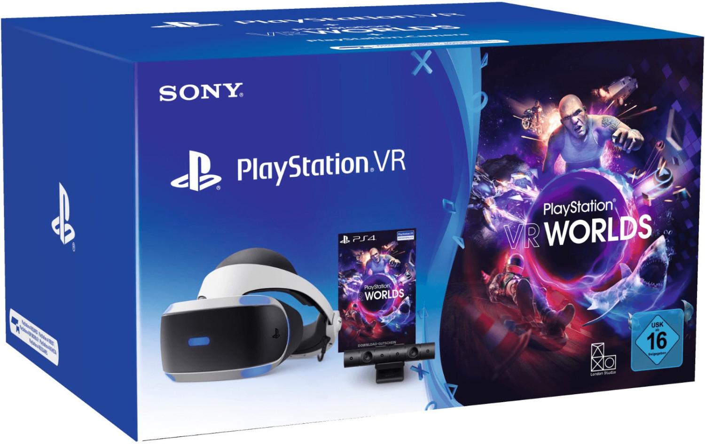 [MediMax] Sony PlayStation VR V2 + PlayStation Kamera + PlayStation VR Worlds  für 199€