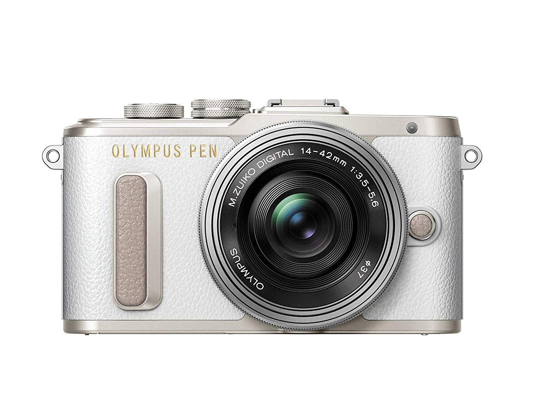 Olympus PEN E-PL8 Kompakte Systemkamera (16 Megapixel, elektrischer Zoom, Full HD, 7,6 cm Display, Wifi) inkl. 14-42 mm Pancake Objektiv