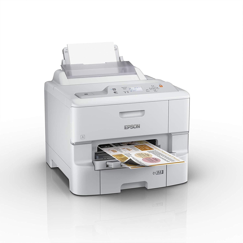 Epson WorkForce Pro WF-6090DW Multifunktionsgerät (Drucker, scanner, kopieren, Fax, 4800 x 1200 dpi, WiFi und USB) weiß von Epson