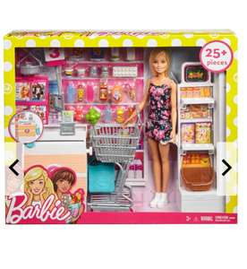 Barbie Supermarkt-Set Galeria-Kaufhof