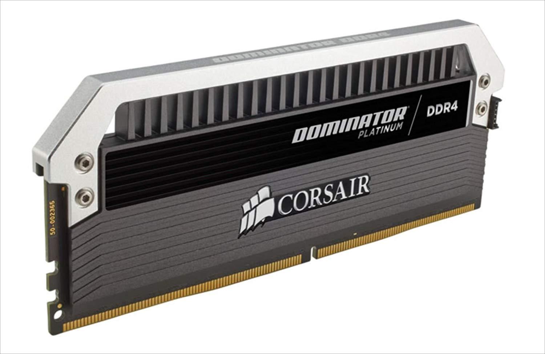 Corsair CMD16GX4M4B3333C16 Dominator Platinum Series 16GB Arbeitsspeicher ((4x4GB) DDR4, 3333Mhz, CL16 XMP) schwarz