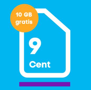 Blau.de Prepaidkarte mit 10€ Guthaben & 10GB LTE für 9,99€ + 5€ Shoop Cashback