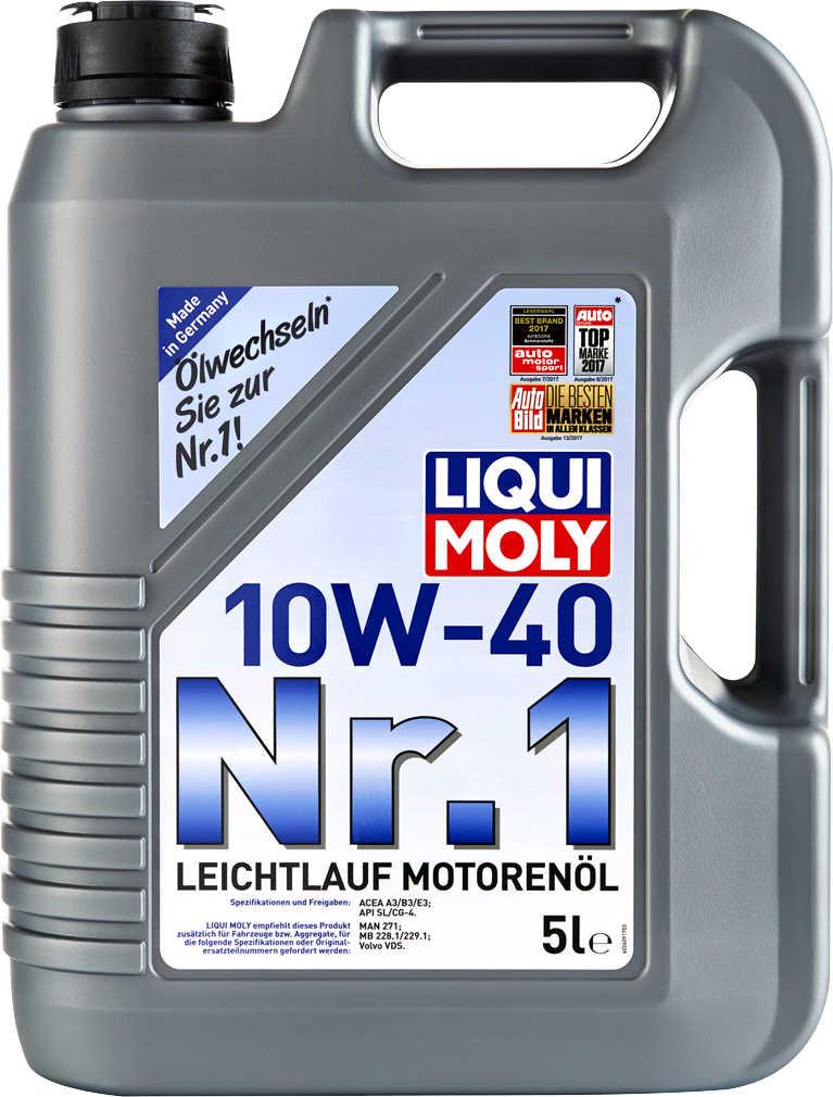LIQUI MOLY Leichtlauf-Motorenöl Nr. 1 10W-40 für 17,99€ / 5W-30 LL III für 32,99€ [Kaufland ab 19.11.]