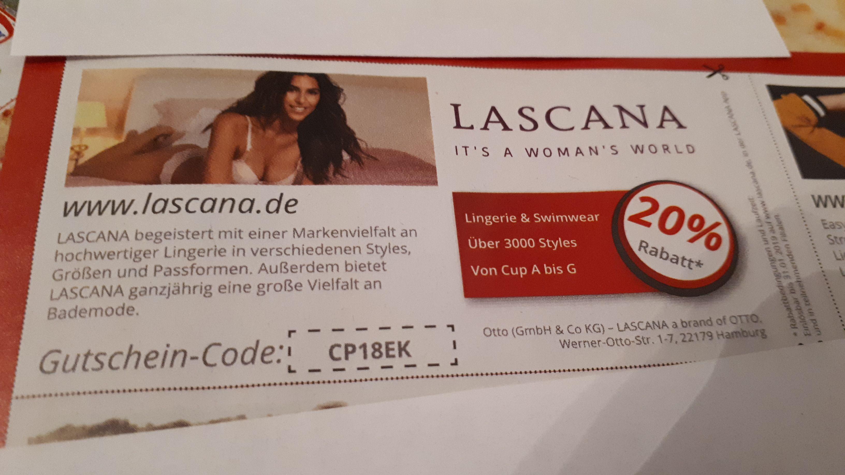 Lascana 20% Rabatt ohne MBW