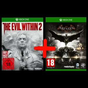 Batman Arkham Knight + The Evil Within 2 (Xbox One) für 17.76€ (Cdiscount)