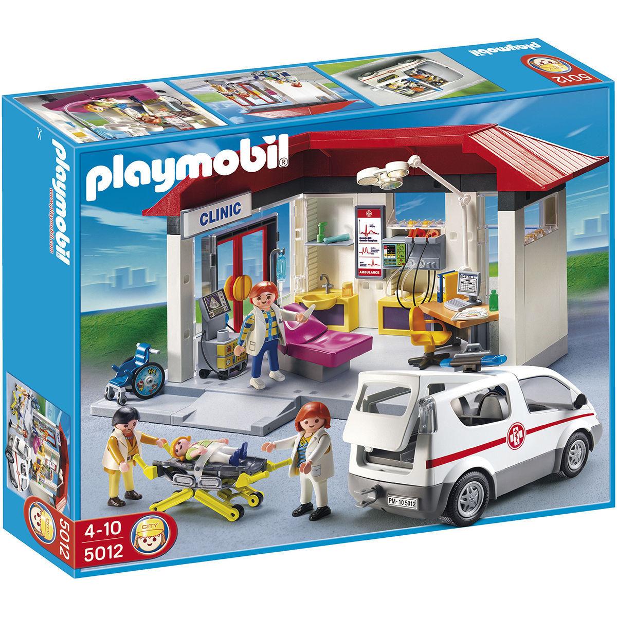 Playmobil Ambulanz mit Krankenwagen (5012)