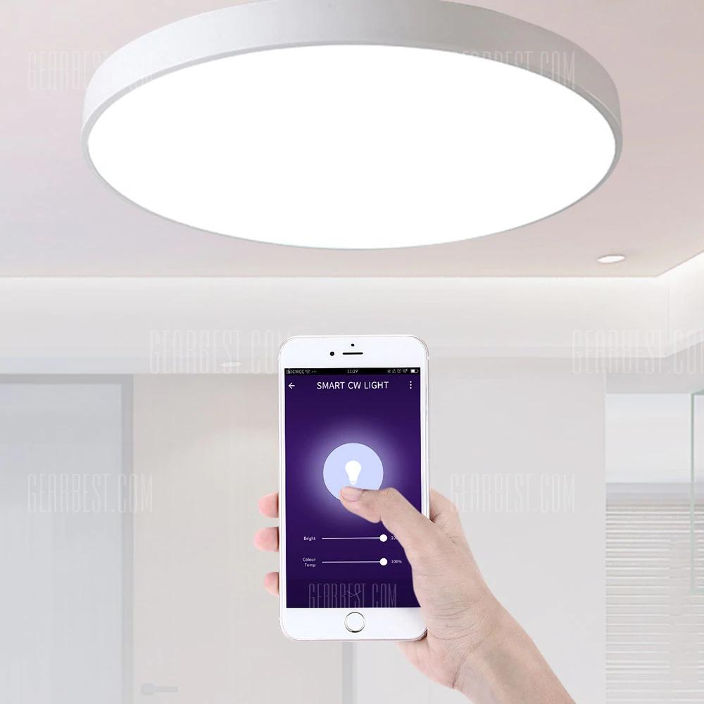 Utorch Smart Voice Control (Alexa/Google Home etc) LED Ceiling Light 18W AC 220V - WHITE 30CM - Smarthome