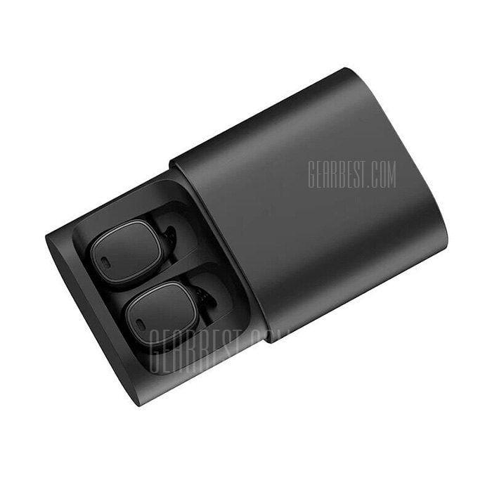 QCY T1 Pro - BT 4.2 Kopfhörer - iPX4 - 3D Stereo - 750mAh Ladebox - WLAN Synchronisation