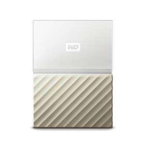 WD My Passport Ultra 4TB weiß / gold