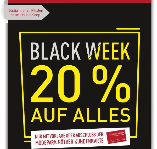 Modepark Röther -20% online oder Lokal
