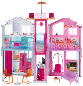 [Amazon.uk Tagesdeal] Barbie DLY32 - Barbie 3 Etagen Stadthaus