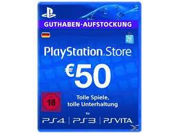 50 € Guthaben PSN (DE)