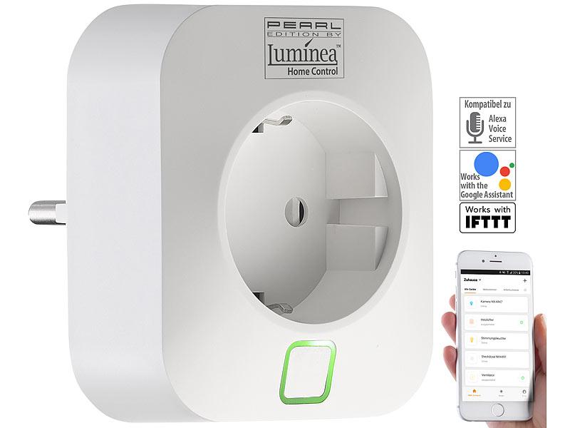 Luminea Home Control  WLAN-Steckdose