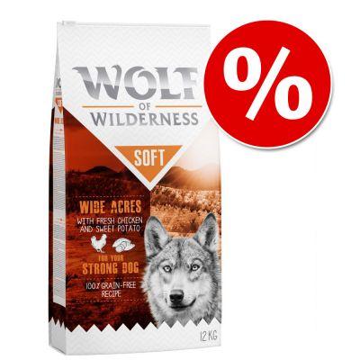 [Zooplus] Bestpreis - Wolf of Wilderness Hundefutter - 20€ Rabatt durch Mastercard Special
