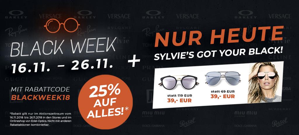 [Edeloptics] 25% auf alles -  Brillen / Sonnenbrillen