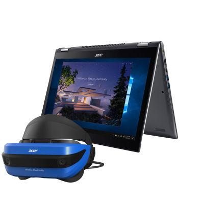 Acer Spin mit VR Brille (AH 101) GTX 1050 8GB 256GB SSD i5 8250