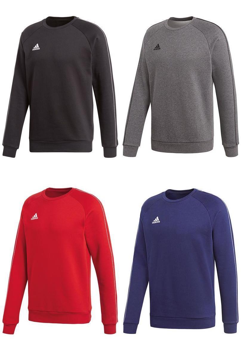 Adidas Core 18 Trainingspullover in schwarz, grau, rot oder blau (Größen S bis XXL)