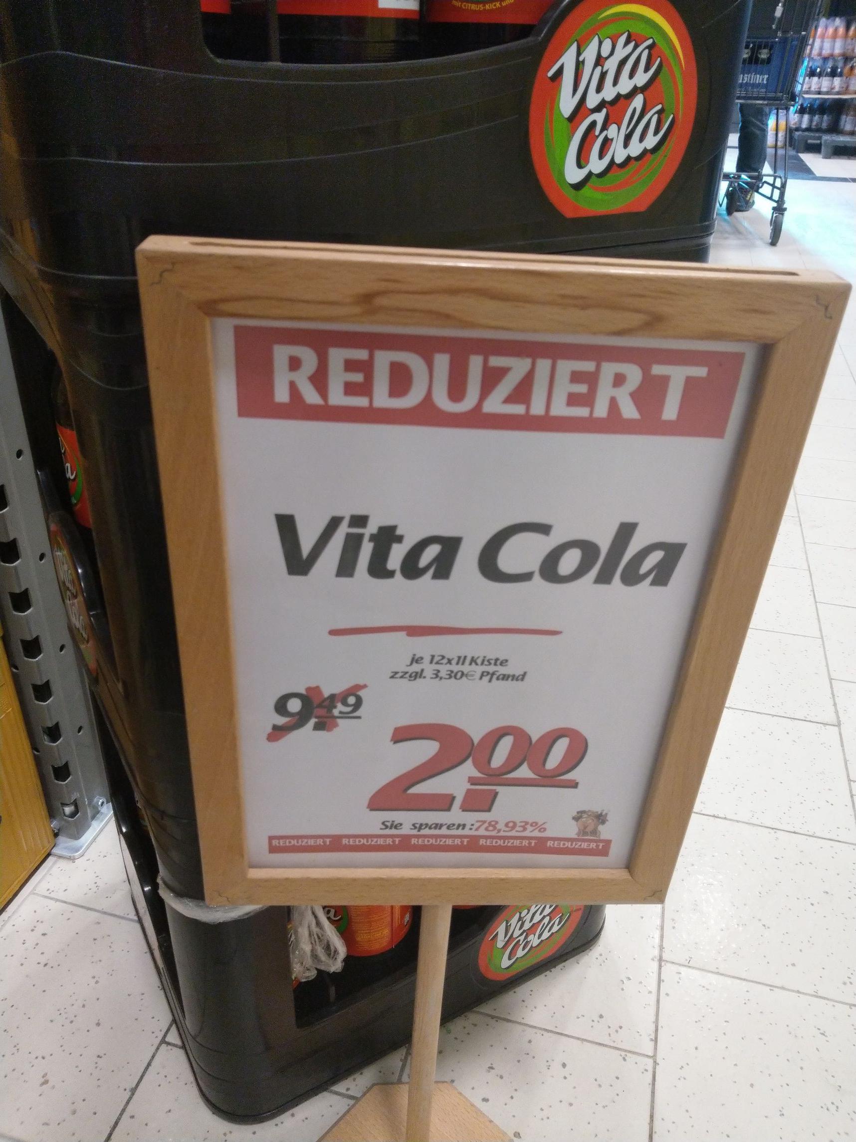 Vita Cola bei Marktkauf Münster / Gievenbeck [lokal]