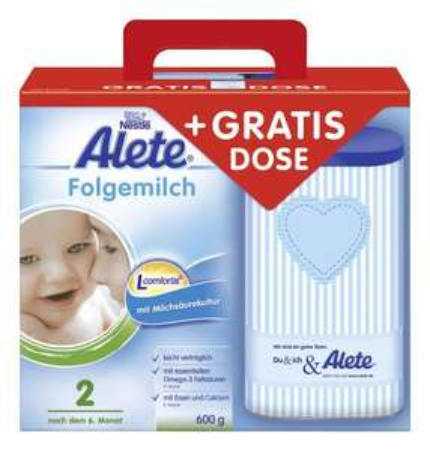 Alete Milchnahrung + Schmuckdose gratis nur 5,98€ + ggf Versand