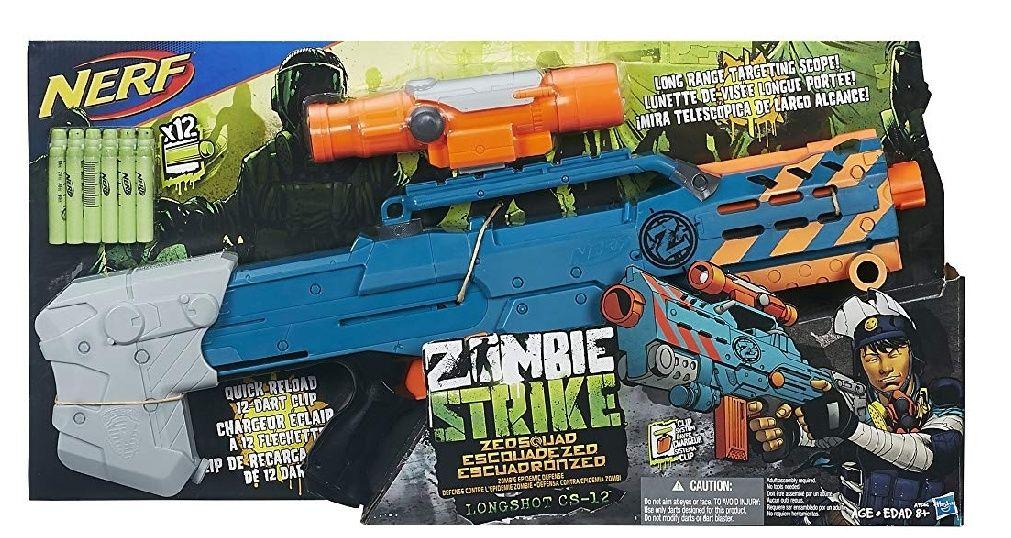 Nerf N-Strike Zombie Strike Longshot CS-12 [31,99€ bei Marktabholung]
