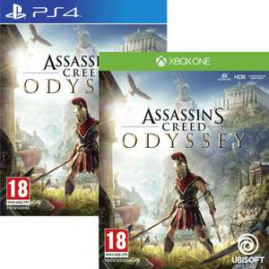 Assassin's Creed: Odyssey (PS4/Xbox One) für 35€ (Coolshop)