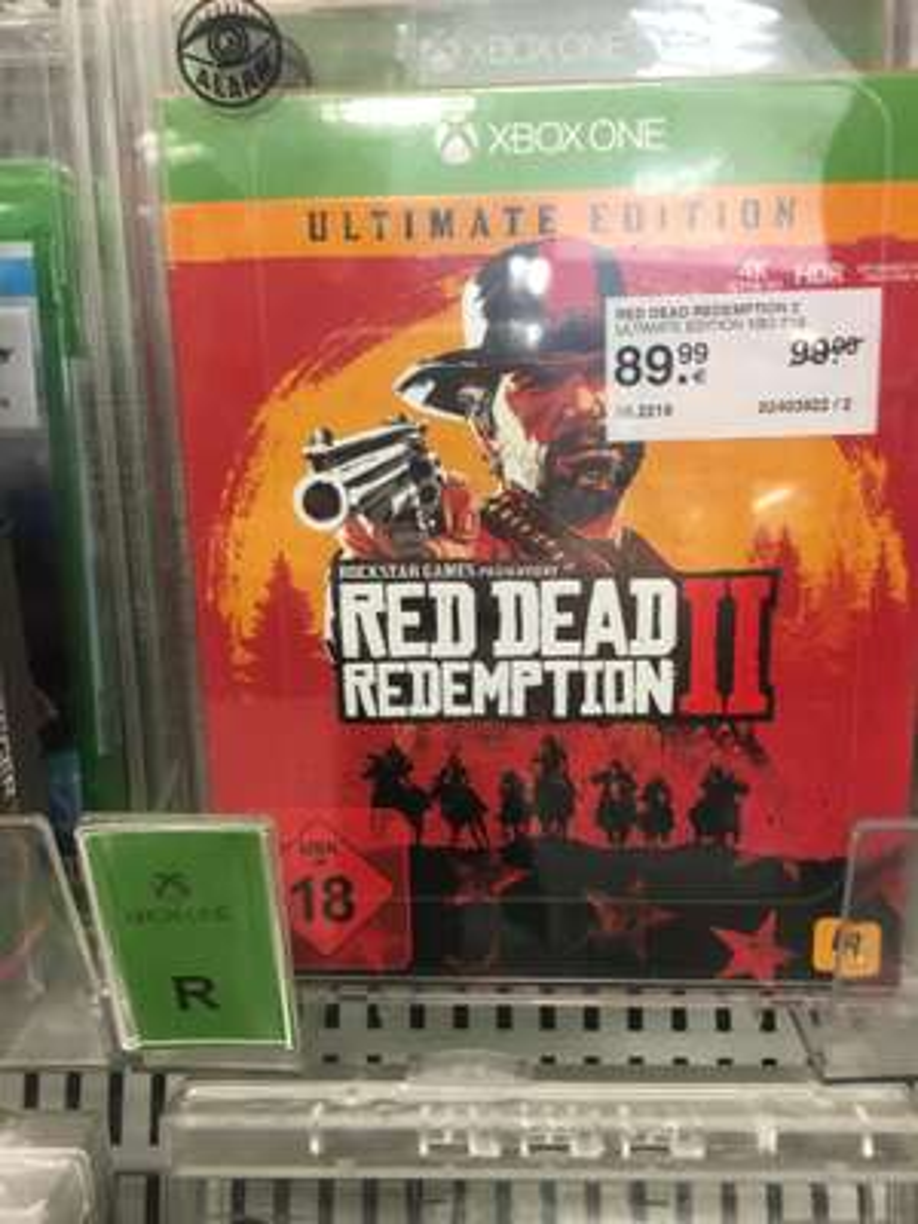 Red Dead Redemption 2 Ultimate Edition Müller Lokal ?