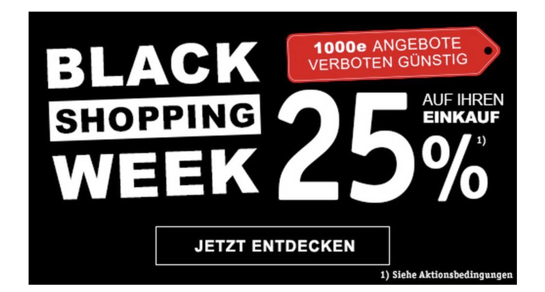 XXXLutz Black Shopping Week