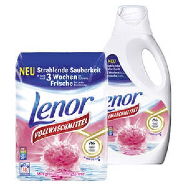 Neuer 1,00€ Sofort-Rabatt Coupon für den Kauf von Lenor Waschmittel oder Wäschparfüm bis 30.06.2019 [bundesweit]