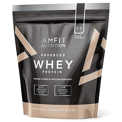 [Amazon Sparabo] Eigenmarke Amfit Nutrition Whey - 1,9kg - Cookies & Creme