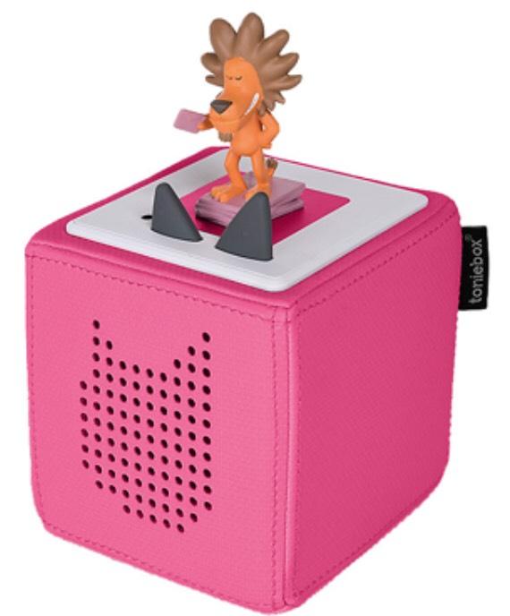 Toniebox Starterset Pink mit Kartenspiel Lobo 77 als Füllartikel