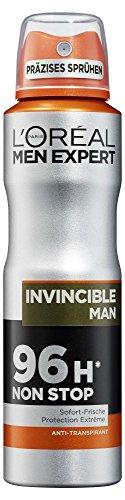 L'Oreal Men Expert Deo Spray Invincible Man und L'Oreal Men Expert Deo Roll-On Invincible Man