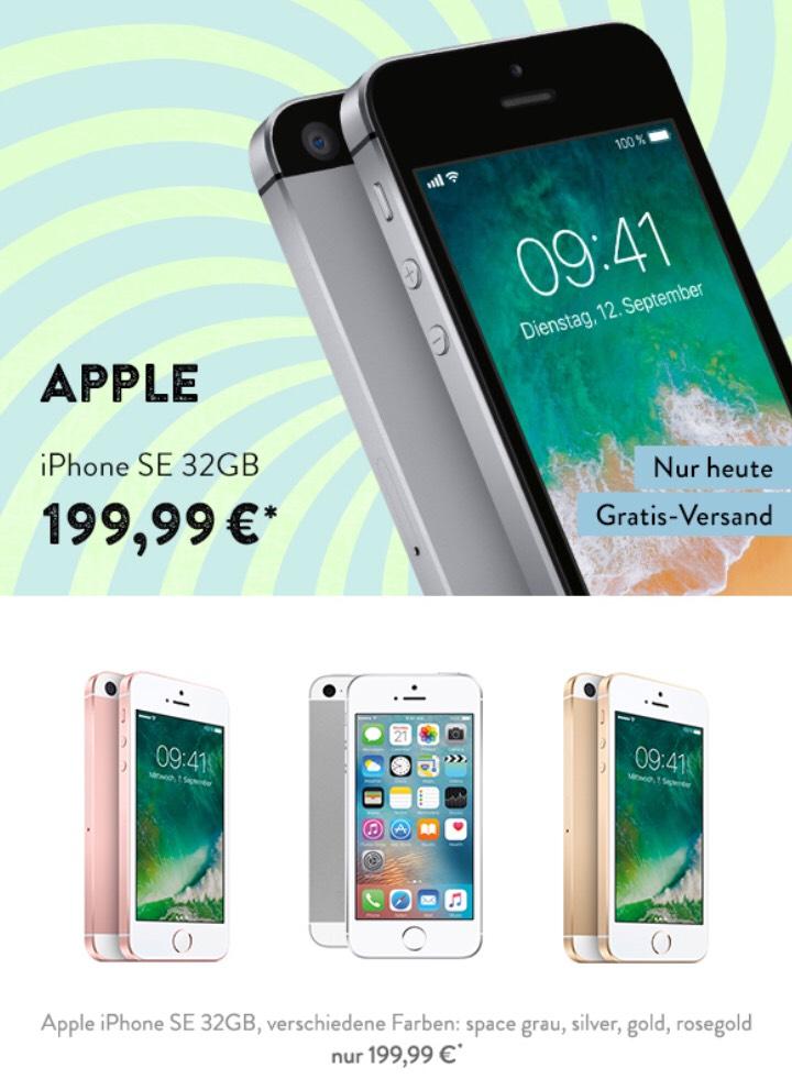Apple iPhone SE 32 GB generalüberholt