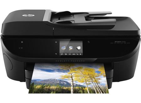 Multifunktionsdrucker HP ENVY 7640 E-ALL-IN-ONE, 4-in-1, WLAN, schwarz Instant Ink fähig
