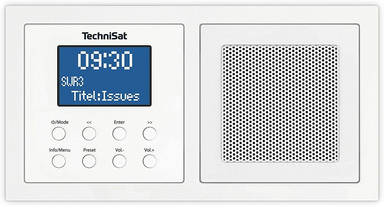 [Amazon.de] TechniSat Digitradio UP1 Unterputz-Radio mit DAB+, UKW und Bluetooth