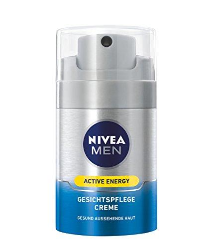 [Amazon.de Prime] Nivea Men Active Energy Gesichtspflege Creme im 1er Pack (1 x 50 ml), Gesichtscreme für Männer