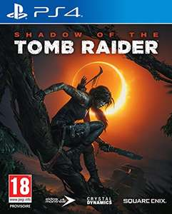 Shadow of the Tomb Raider (PS4) + Digitaler PRIMA Mini Guide + Currency Pack für 32,82€ (Amazon ES)