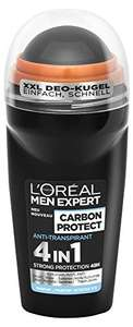 [Prime] L'Oreal Men Expert Deo Roll-On Carbon Protect (6 x 50ml)